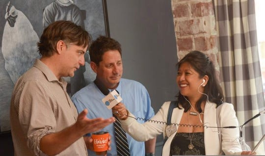 Jennifer Sangalang interviews Jim Waymer and Wayne Price.