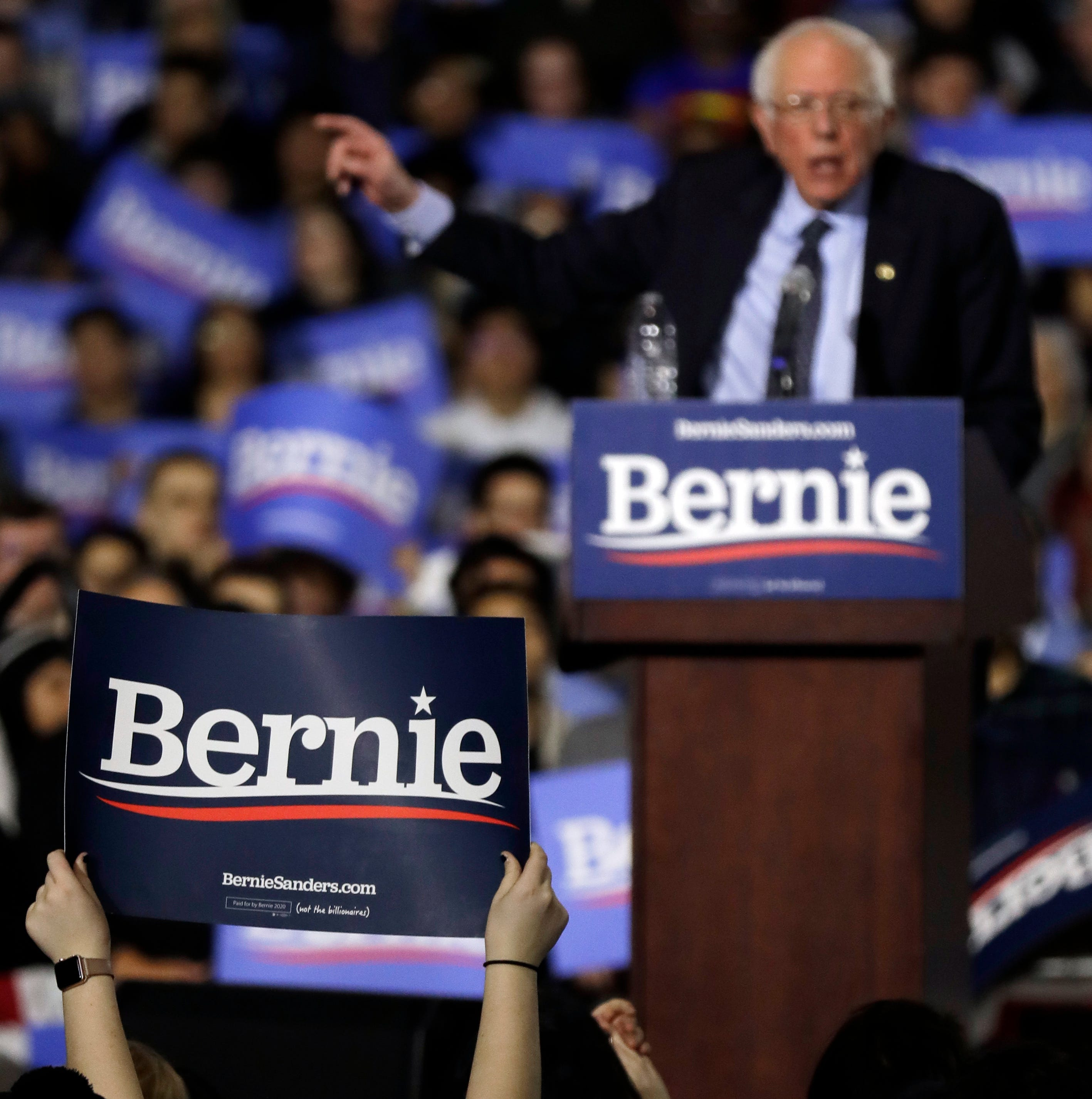 Bernie Sanders 2020 presidential campaign pledges to offset 'all carbon emissions'