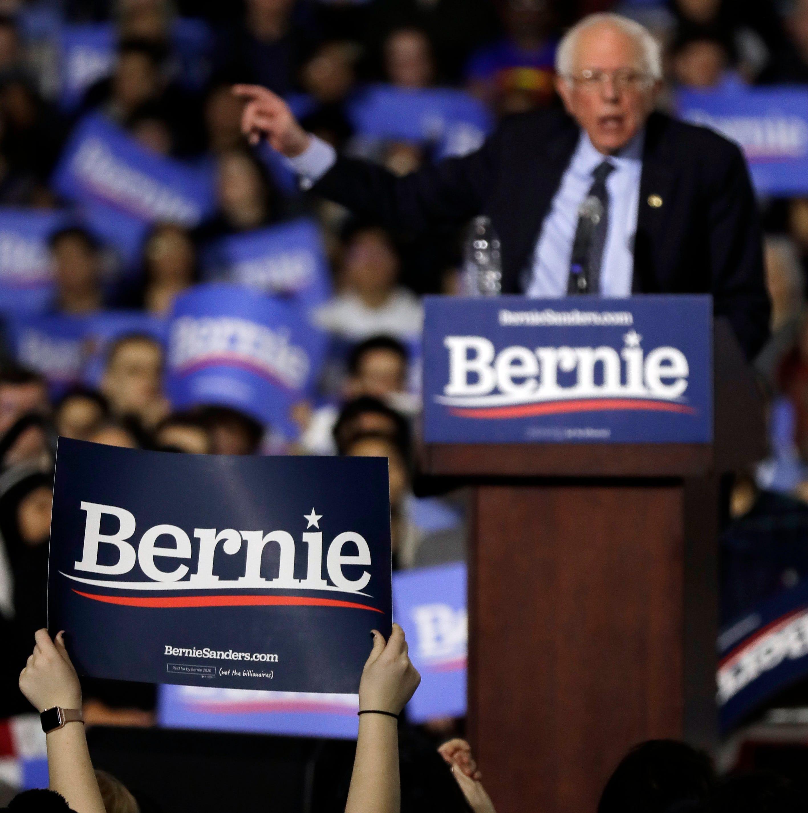 Bernie Sanders 2020 presidential campaign pledges to offset 'all carbon emissions'