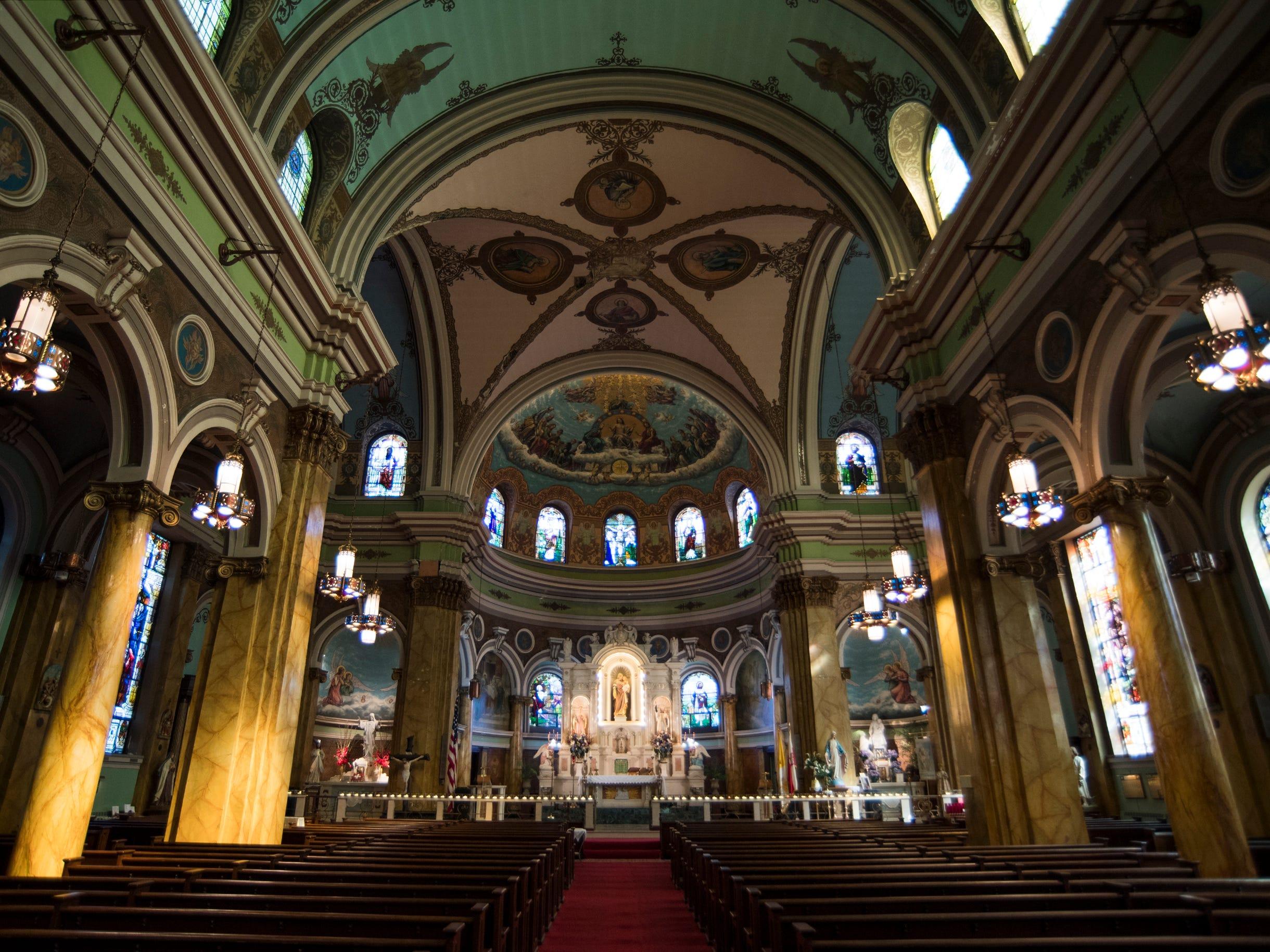 St. Joseph Roman Catholic Church Thursday, Feb. 28, 2019 in Camden, N.J.