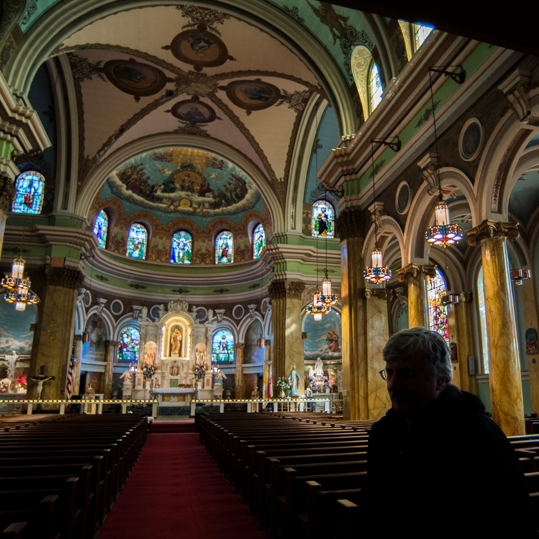 In the center of Camden, a church honors Polish Catholic history
