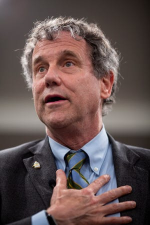Sen. Sherrod Brown said Wednesday  that there are similarities between the leadup to the war in Iraw and the current conflict with Iran.