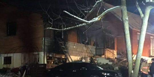 Police are investigating after a fire broke out in the 400 block of Locust Street in Erlanger.