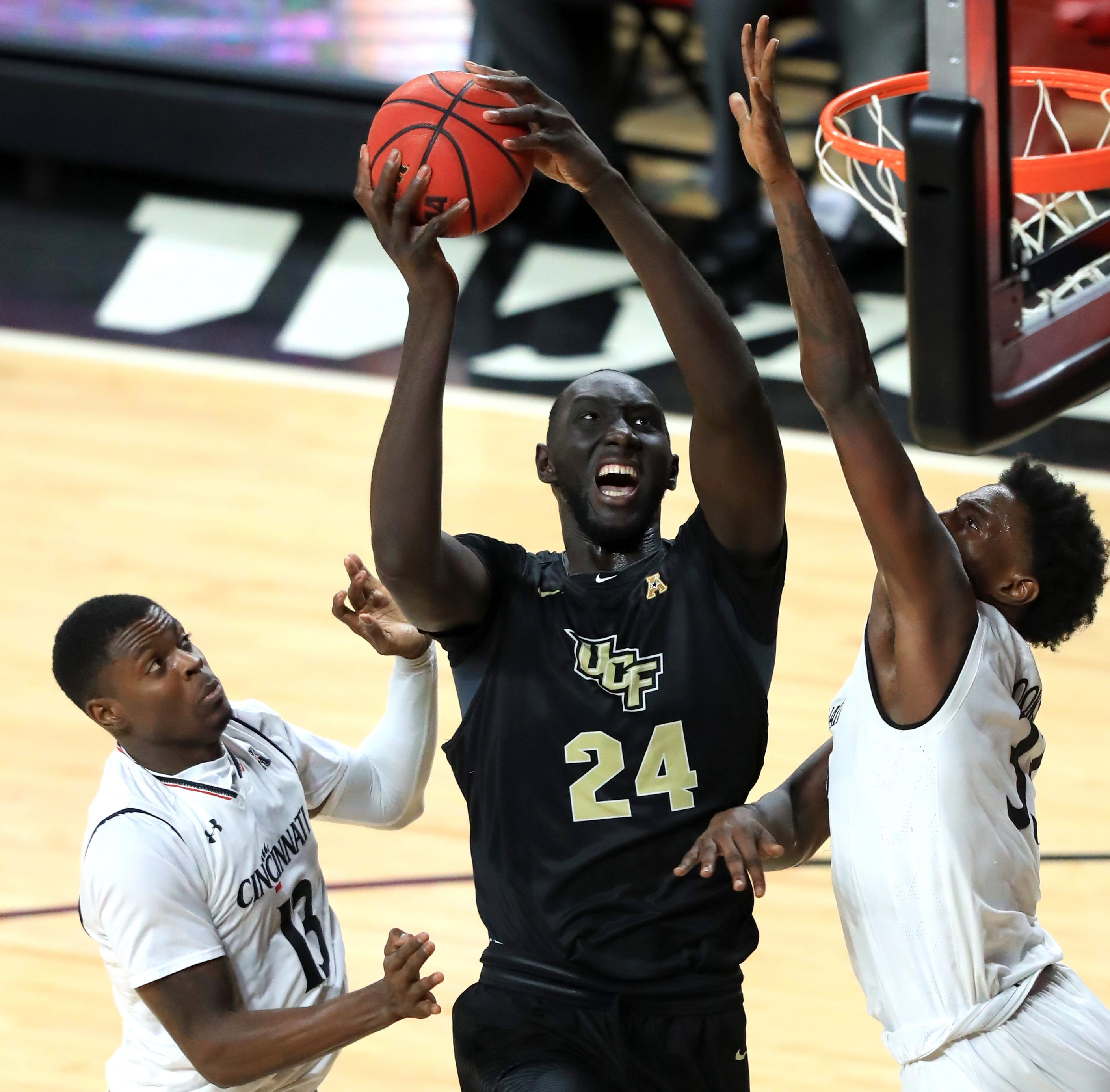 Cincinnati Bearcats have another tall order in Tacko Fall, Central Florida Knights