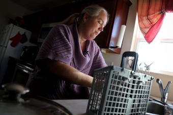 Jennifer Romer was laid off from work six years ago. She's been struggling ever since.