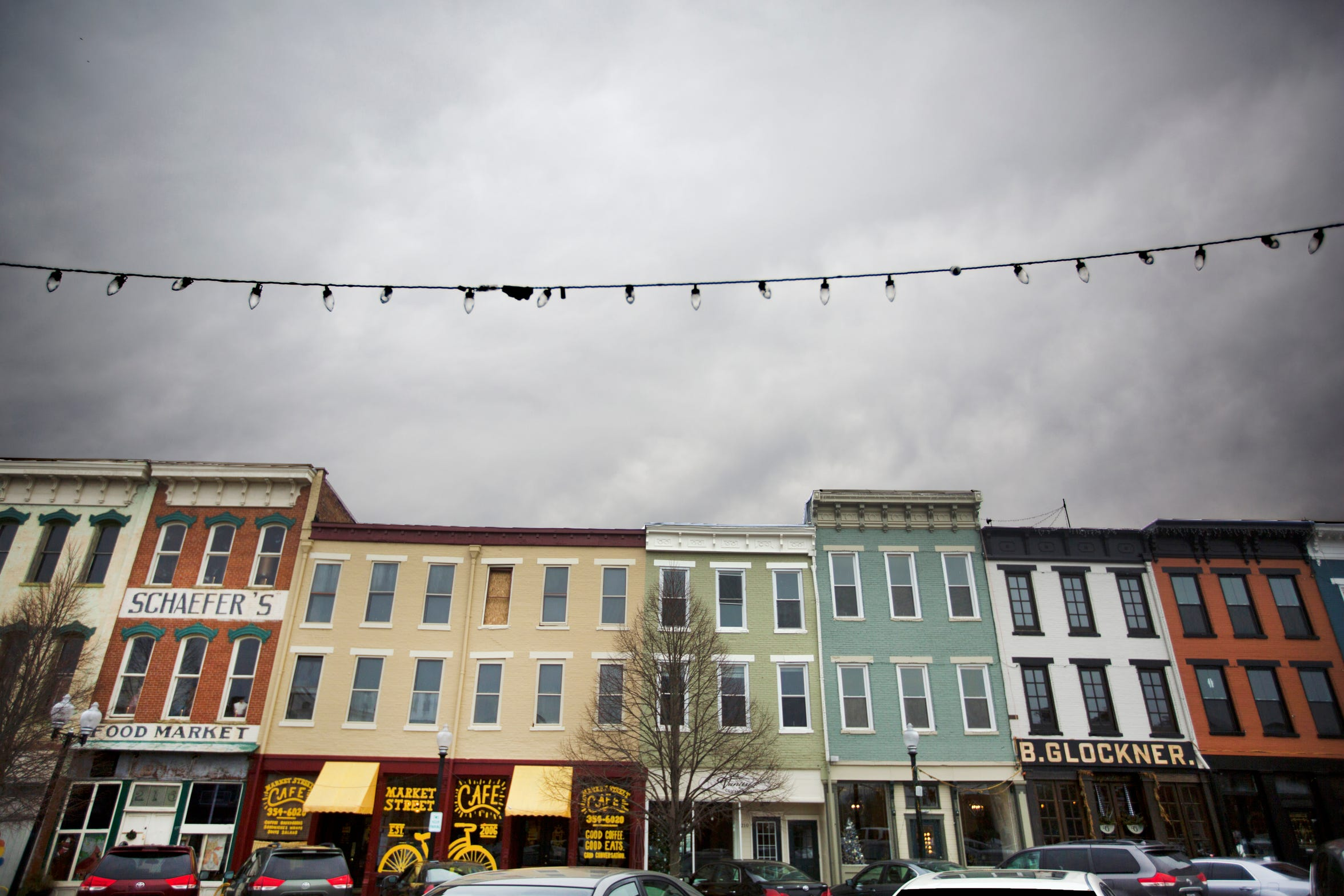 Market Square in downtown Portsmouth, Ohio is one of the bright spots in this southern Ohio rural community of just over 20,000 that sits along side the Ohio River and Scioto River.