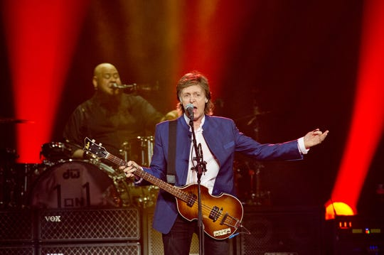 "Paul McCartney brought his ""One on One"" tour to the U.S. Bank Arena in 2016."