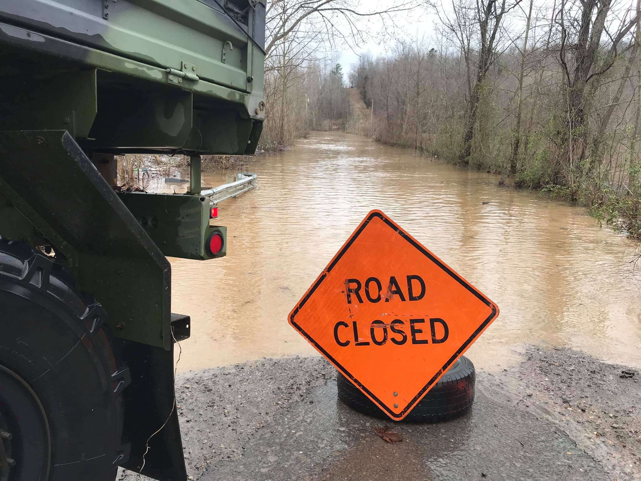 The Cumberland River levels cut off some neighborhoods in Stewart County, and on Saturday and Sunday, personnel with Emergency Management Agency and Fire Rescue delivered food and supplies to trapped residents.