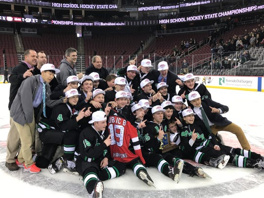 The No. 2 Ridge ice hockey team won its second Public B title in three years with a 4-1 victory over top-seeded Randolph on Monday afternoon.
