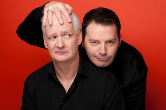 """Improv artists Colin Mochrie and Brad Sherwood are known for their work on """"Whose Line Is It Anyway?"""""""