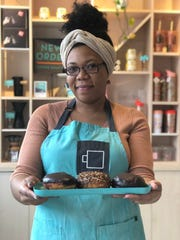 Girl Scout cookie-inspired paczki from chef Jessica Chaney will be sold at New Order Coffee Roasters on Tuesday only.