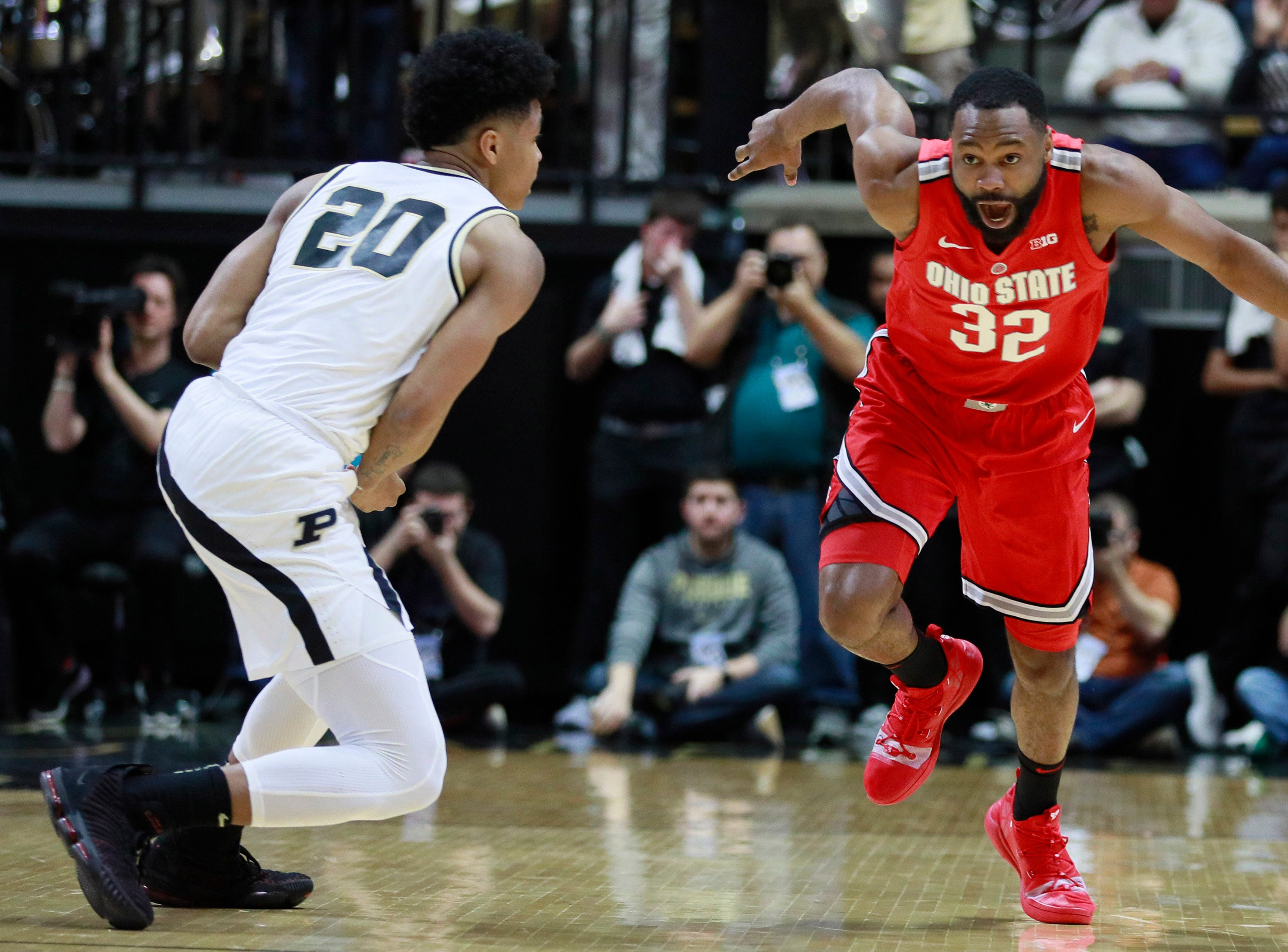 6. Ohio State (18-11, 8-10) – For the Buckeyes, the final week of the season is all about trying to firm up their NCAA Tournament resume. Still hovering near the bubble, the Buckeyes missed out on a chance by losing at Purdue. They'll now head to Northwestern before hosting Wisconsin to close the regular season, all while the status of suspended center Kaleb Wesson remains unclear. Last week: 7.
