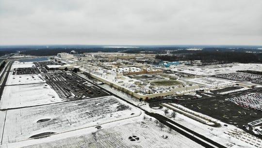 The General Motors' Lordstown plant, in Lordstown, Ohio.