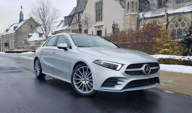 Starting at $33,475, the Mercedes A220 offers an entry-level Merc with the classiness of a $100k-plus S-class.