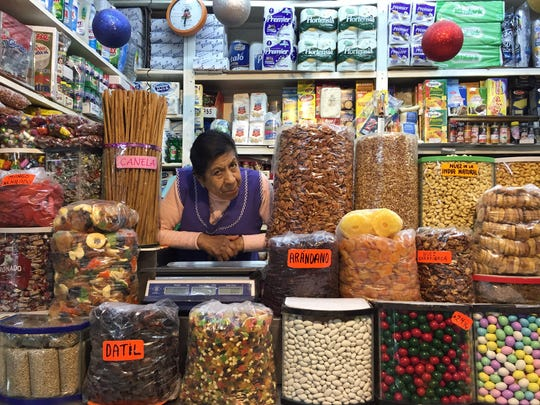 The massive Mercado Medellin in Roma Sur offers an old-school alternative to modern grocery stores. (Ray Mark Rinaldi/Chicago Tribune/TNS)