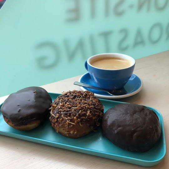 Girl Scout cookie-inspired paczki will be sold at New Order Coffee Roasters on Tuesday only.