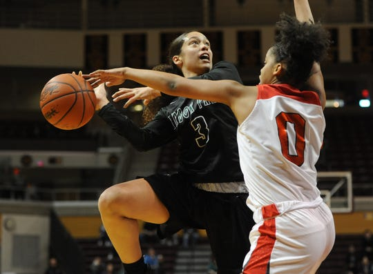Bradley-bound guard Mahri Petree (3) and Ypsilanti Arbor Prep have a history of making deep state tournament runs.
