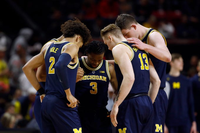 Go through the gallery to see the Detroit News Big Ten Power Rankings for men's basketball for the week of March 4, compiled by Matt Charboneau.