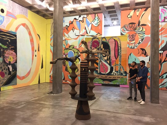 Galeria OMR in Roma Norte is one of Mexico City's leading art spaces. (Ray Mark Rinaldi/Chicago Tribune/TNS)