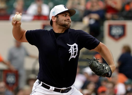Tigers starting pitcher Michael Fulmer allowed four hits and a run in three innings Monday against the Cardinals.