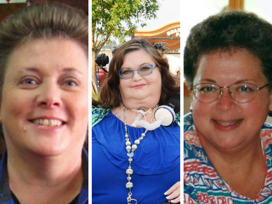 Windsor leaders Michal Connors, from left, Carrie Ann Lucas, and Sandy Brug died suddenly in the past two weeks