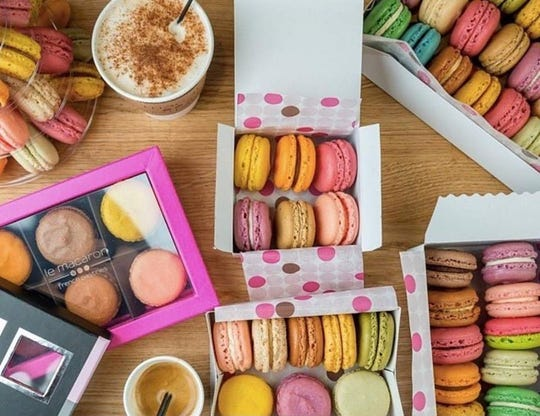 Le Macaron French Pastries opened in downtown Fort Myers Feb. 28.