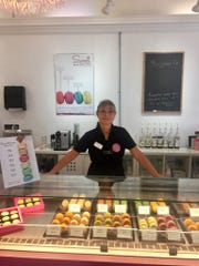 Florence del Fondo, a native of Paris, is the franchise owner of the new Le Macaron French Pastries in downtown Fort Myers.