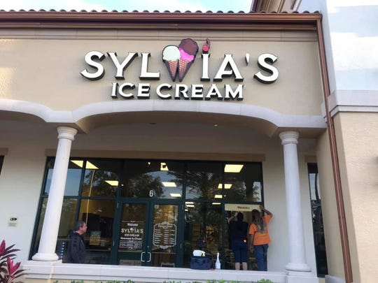 Sylwia's Ice Cream opened in February on Del Prado Boulevard North in Cape Coral.