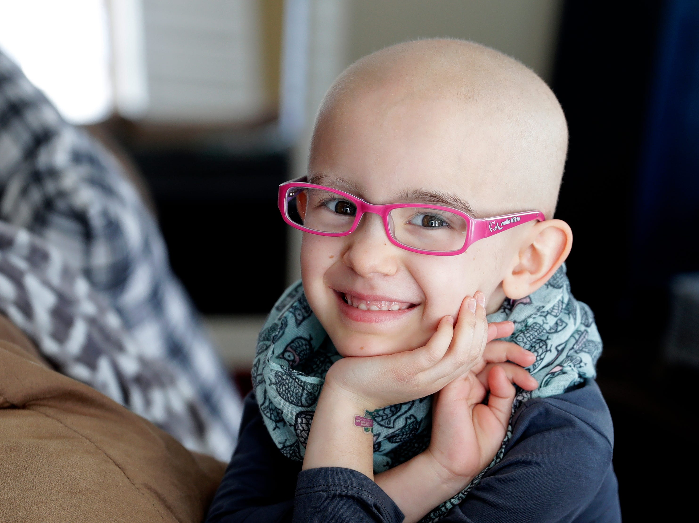 Lily Wertel, 6, of Wrightstown, Wis., is going through chemotherapy treatments after being diagnosed with an inoperable tumor in her lower abdomen. A fundraising benefit is scheduled for May 19, 2019, at the Riverside Ballroom in Green Bay, Wis.