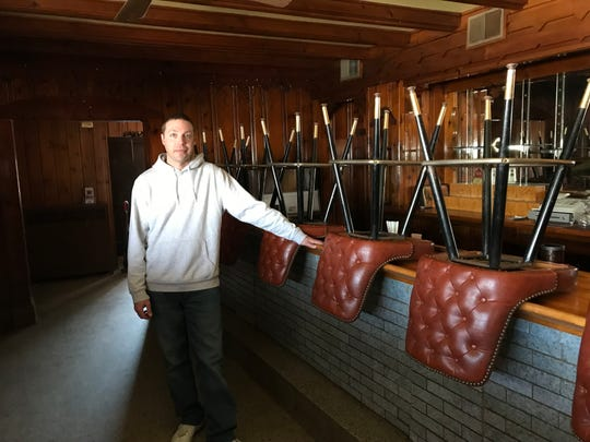 Cory Lehman, new owner of The Mill Supper Club in Sturgeon Bay.
