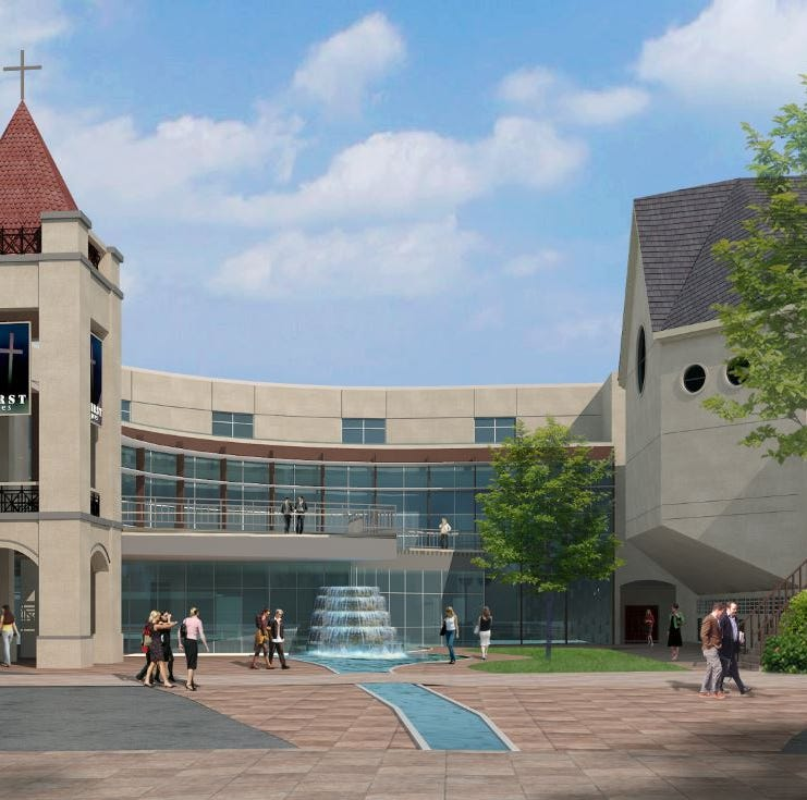 First Presbyterian's $35 million project aims to transform a downtown Greenville block