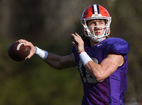 Quarterback Trevor Lawrence, who guided the Tigers to the national championship last season, was one of three five-star recruits for Clemson in the 2018 class along with defensive ends Xavier Thomas and K.J. Henry.