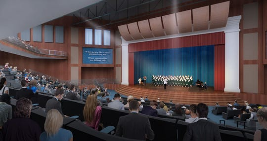 First Presbyterian Church in downtown Greenville is planning a $35 million expansion that will include a new worship and performing arts space.