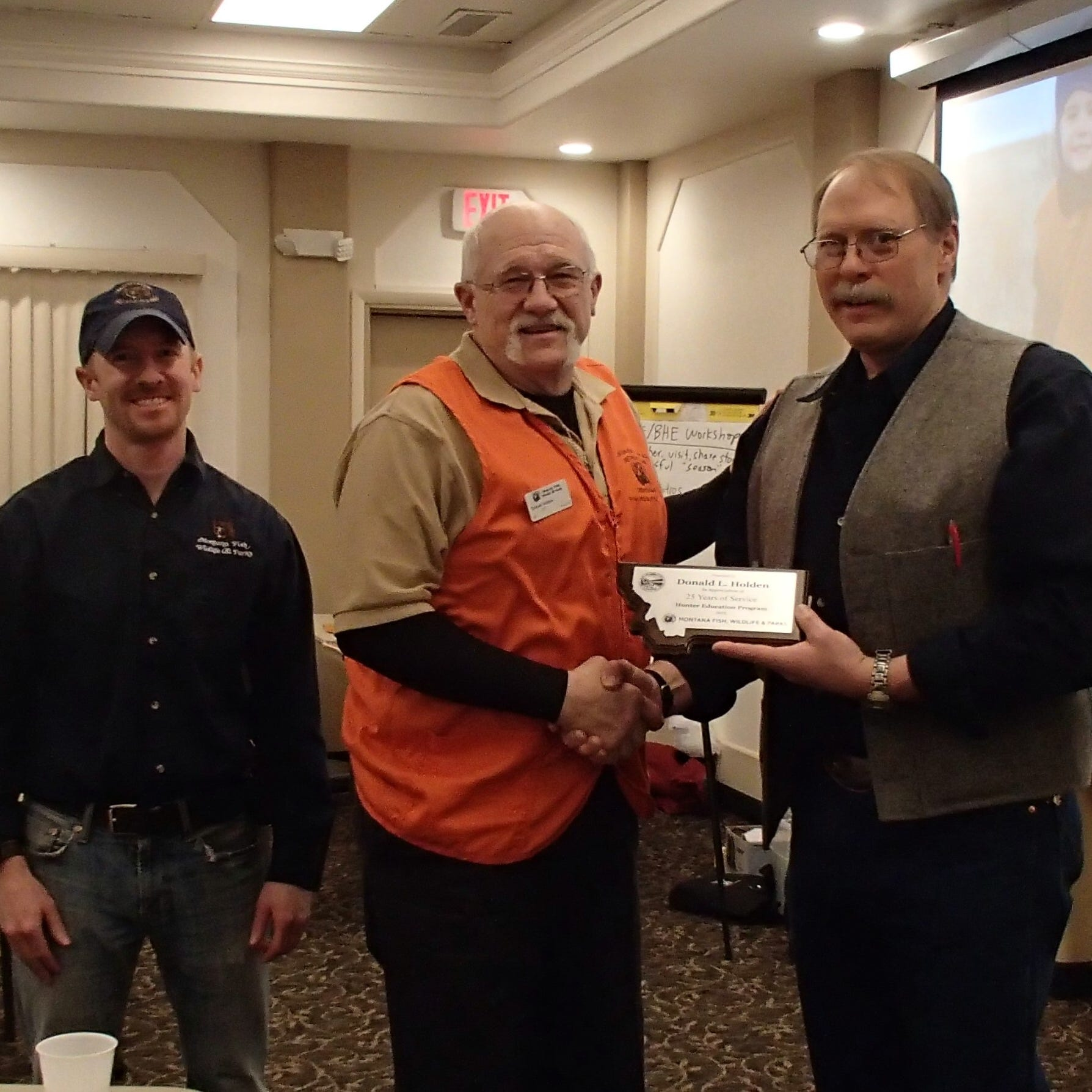 Outdoors briefs: Region 6 volunteer instructors honored for service