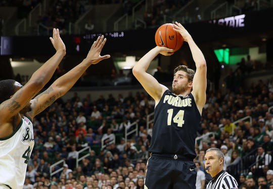 Ryan Cline will finish his career at one of Purdue's all-time leader in 3-pointers made.
