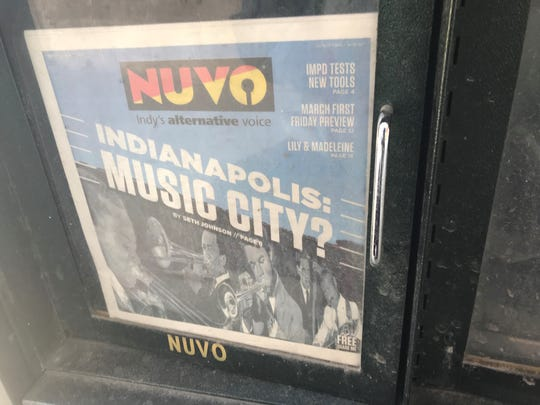 The last issue of NUVO, Indianapolis' alternative newspaper.