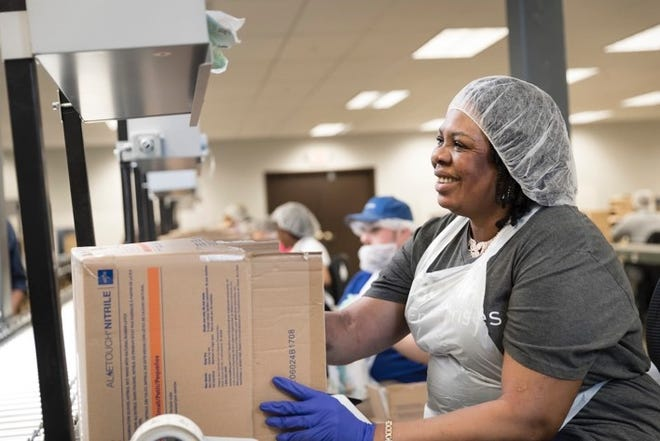Bosma Enterprises employees manage services for a wide range of businesses looking to outsource warehousing and packaging operations.