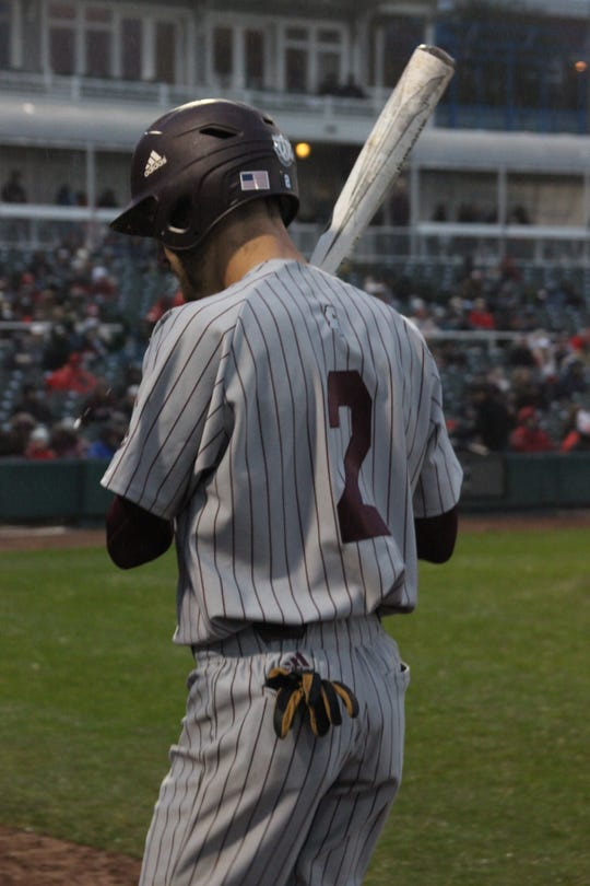 Mississippi State junior second baseman Gunner Halter has struggled to find his form at the plate and in the field through three weeks this season.