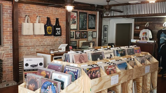 Located at the corner of Franklin and N. 2nd streets a short walk from the Downtown Commons, Shrum's shop is not far from the onetime music store, which according to local lore once leased a guitar to a then-unknown Jimi Hendrix for $10 a month during his time at Fort Campbell in the 1960s.