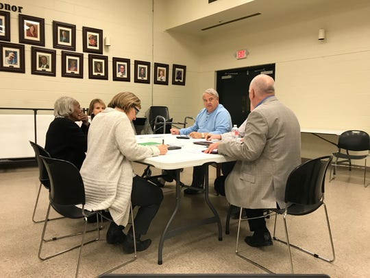 The Madison County Election Commission meets March 4, 2019, at the Madison County Agriculture Complex in Jackson.