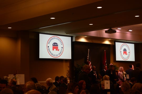 The Madison County Republican Party hosted their annual Reagan Day Dinner at the Carl Grant Events Center at Union University in Jackson, Tenn. on Mar. 1, 2019.