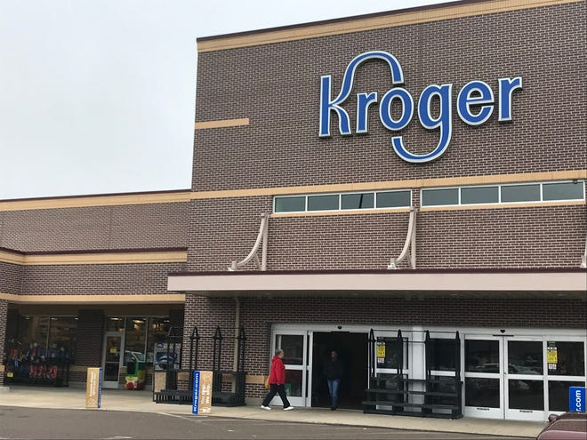 After a man collapsed at the Kroger on West University Parkway on Thursday, a Kroger nurse and another customer came to his aid and performed CPR.