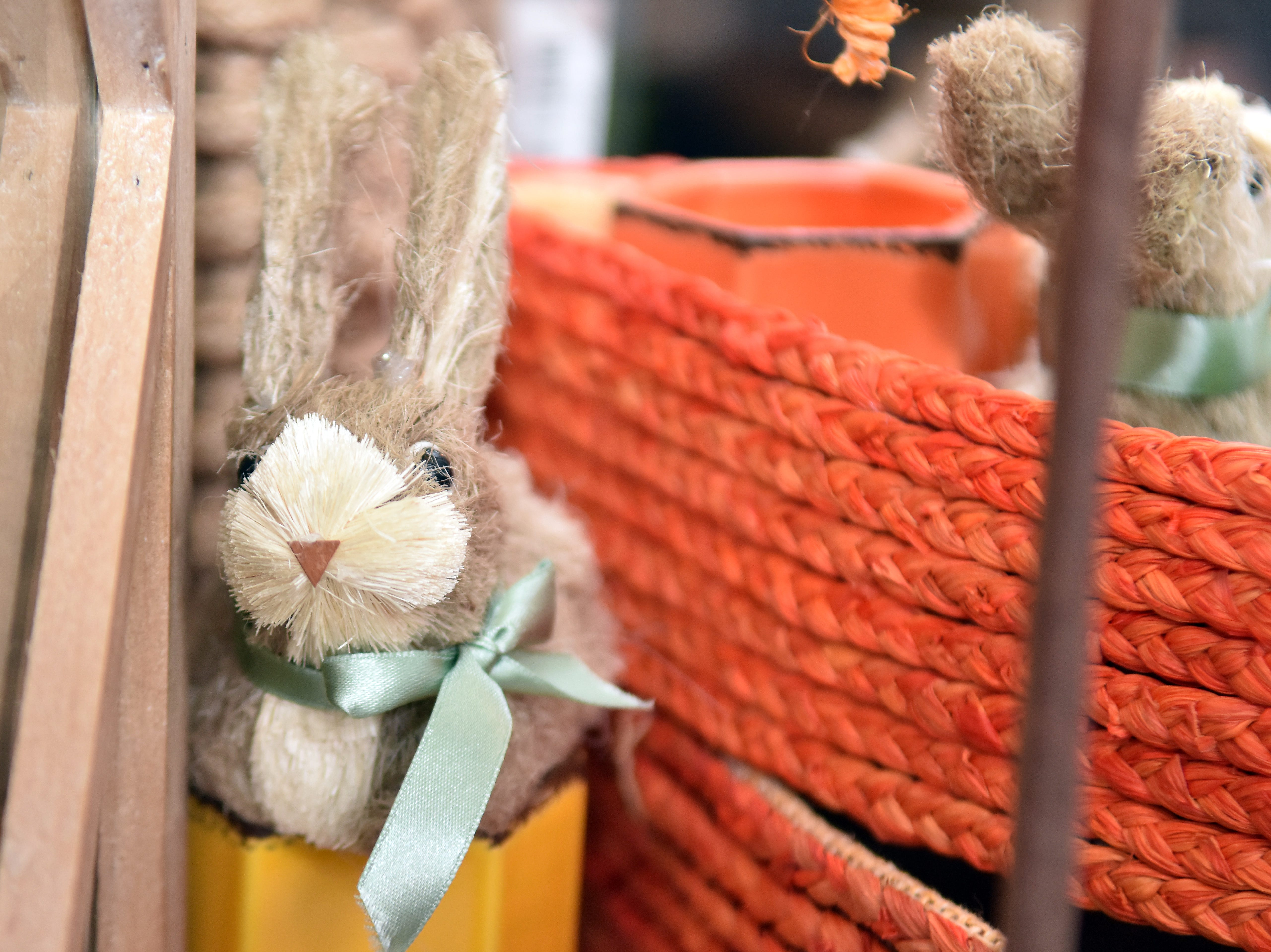 These little bunnies help welcome spring at Real Deals in Powell.