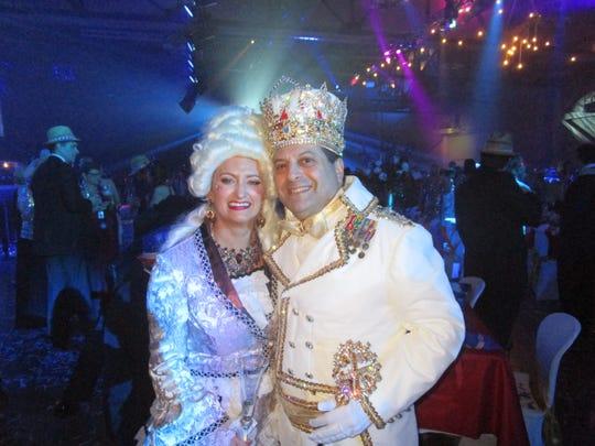 Angelle Patin and Greg Saloom
