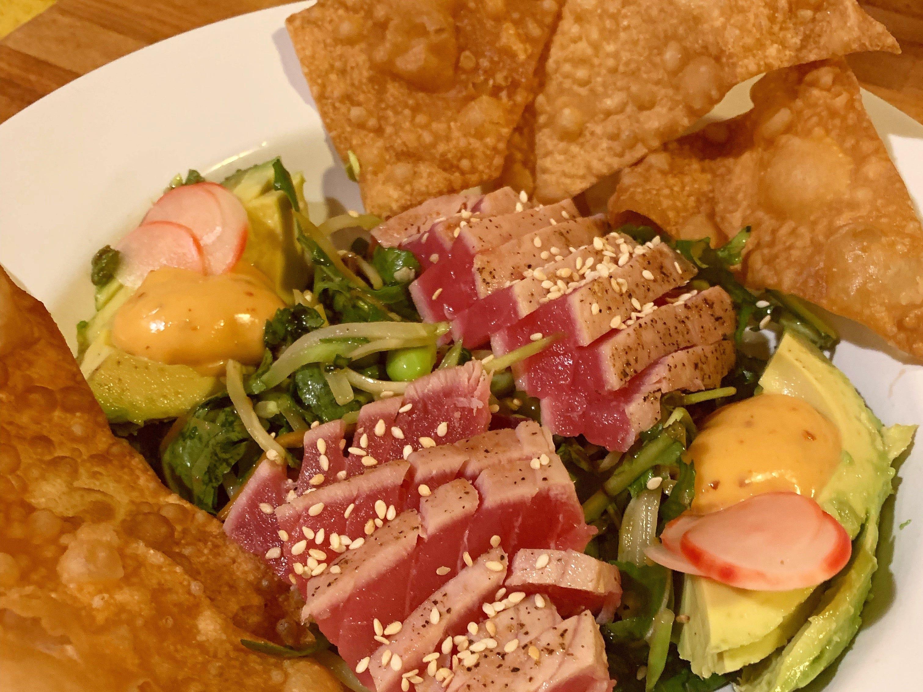 Tuna salad gets a fancy makeover