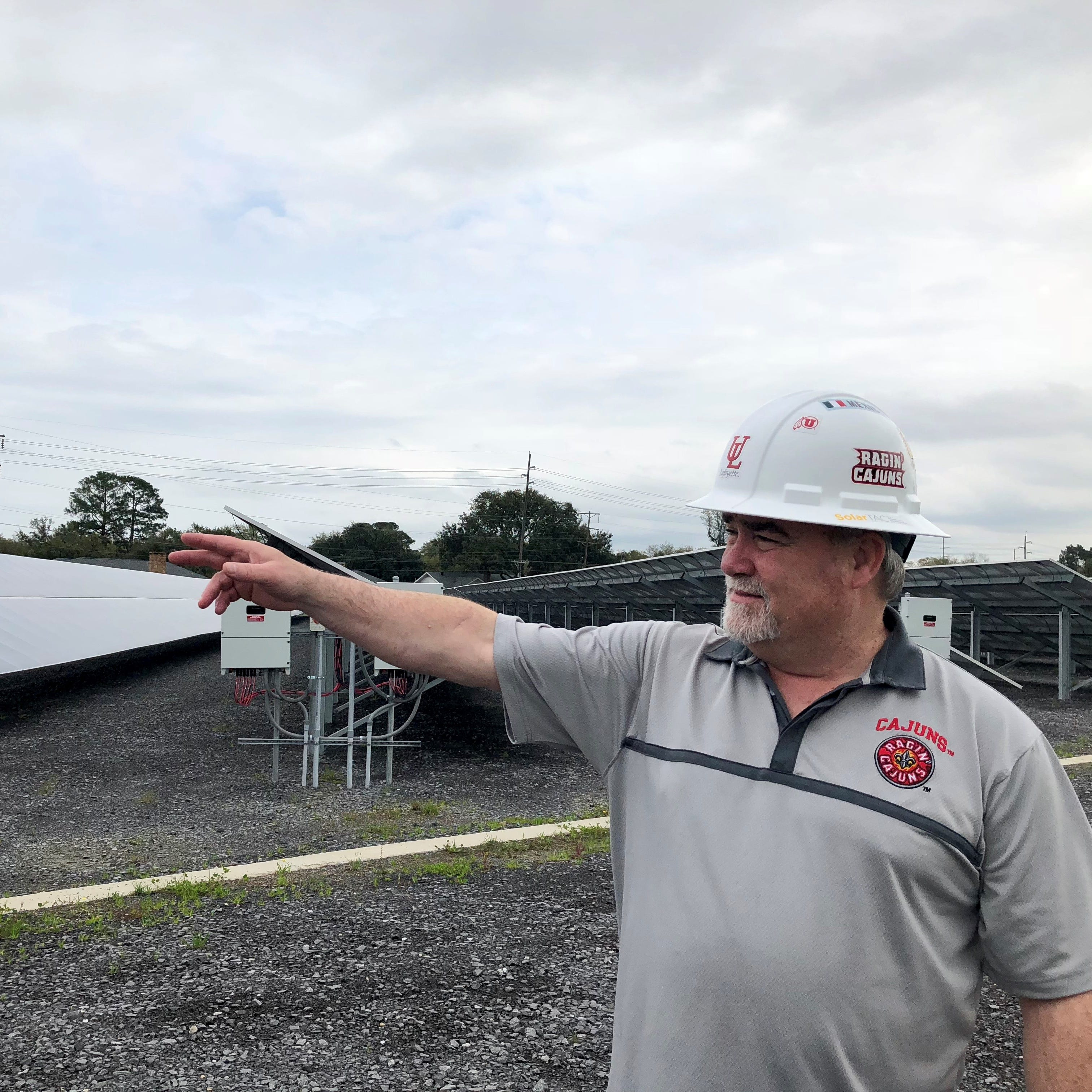 UL Lafayette's solar farm an opportunity to diversify Louisiana's economy