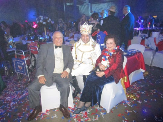 Emile Nassar, Greg Saloom and Yvonne Saloom.