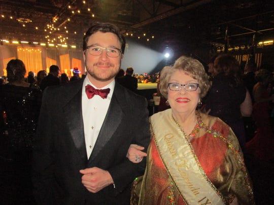 Philip Debaillon and Jeanne Benoit Simon