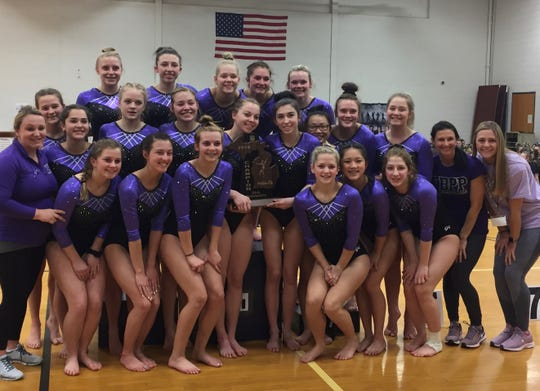 Fowlerville won its first gymnastics regional championship, qualifying for the state meet for the first time.
