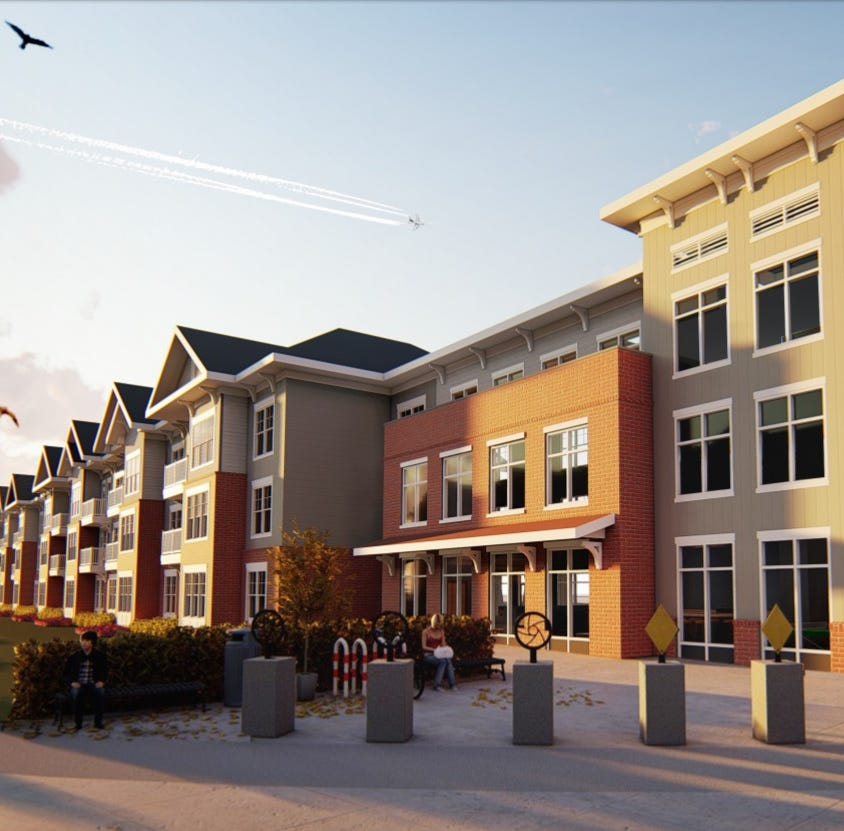 $15 million permit filed to build apartments on empty lots near Overton Park
